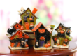 40003 - Ceramic Halloween Candle holder